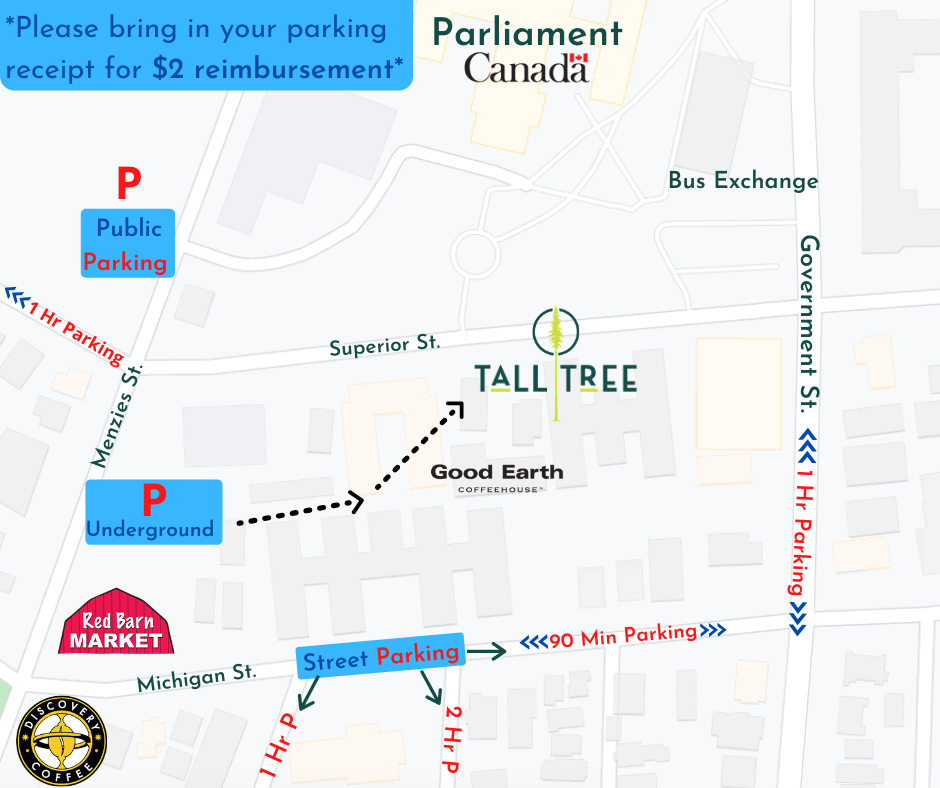 TTJB Parking Map